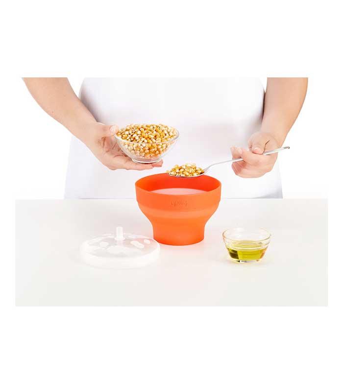 Comprar Lékué Mini Recipiente Para Hacer Palomitas Popcorn Vita33 Com