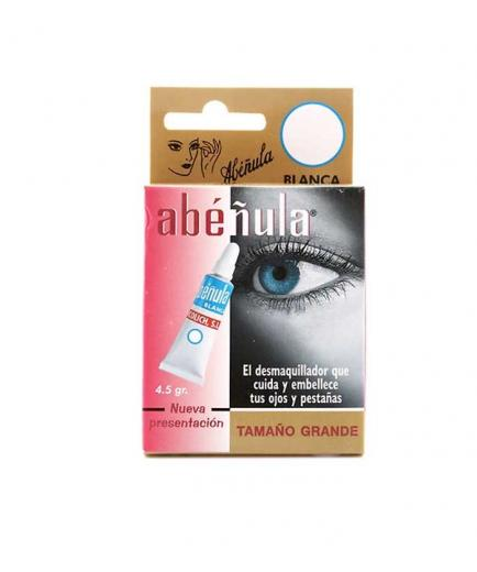 Abéñula - Make-up remover and treatment for eyes and eyelashes 4,5g - White