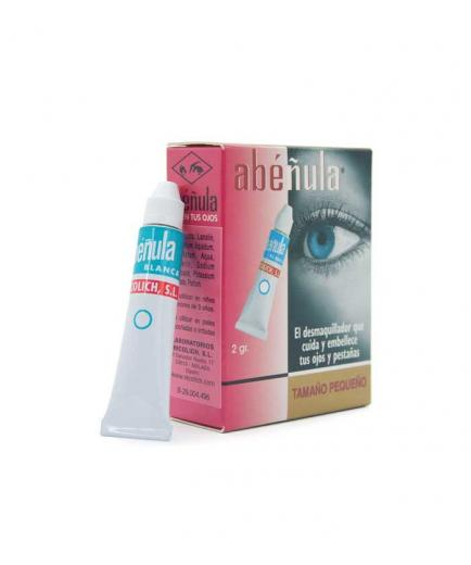 Abéñula - Make-up remover and treatment for eyes and eyelashes 2g - White