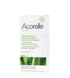 Acorelle - 20 Cold wax bands for the face - Aloe vera and beeswax