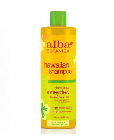 Alba Botanica - Shine shampoo - Gloss Boss Honeydew