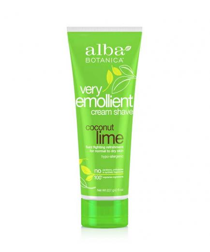 Alba Botanica - Very moisturizing hair removal cream 227g - Coconut and lime