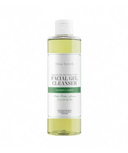 Alma Secret  - Cleansing Gel for combination or oily skin - Cucumber & Juniper