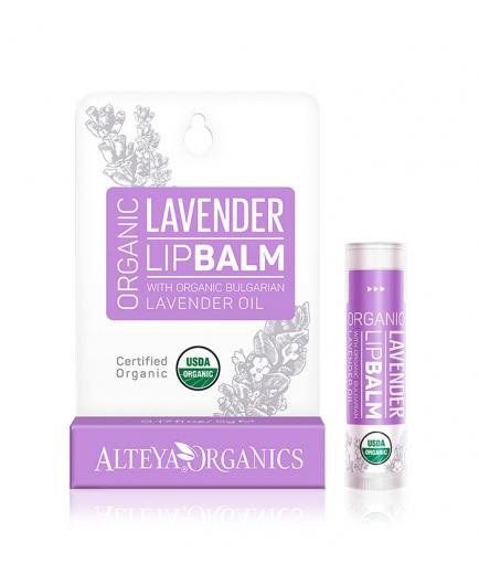 Alteya Organics - Moisturizing Lip Balm - Bulgarian Lavender