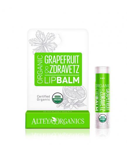 Alteya Organics - Lip Balm - Grapefruit & zdravetz