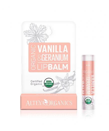Alteya Organics - Lip Balm - Vanilla & Geranium