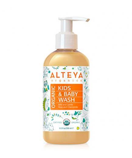 Alteya Organics - Organic Baby Wash Body and Hair 250ml