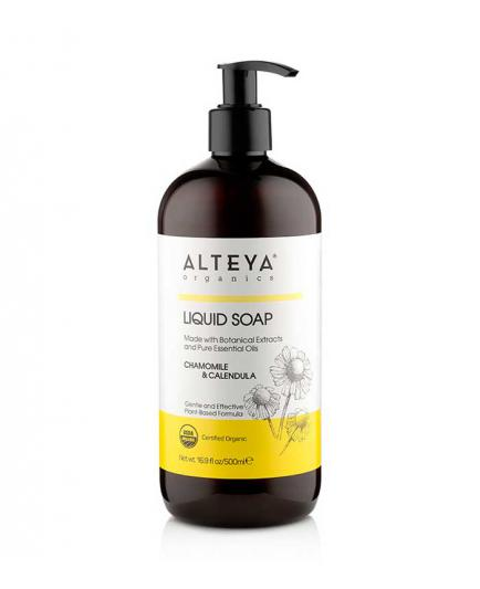 Alteya Organics - Organic liquid soap chamomile and calendula - 500 ml