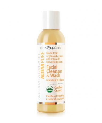 Alteya Organics - Facial Cleanser and Wash - Grapefruit & Zdravetz