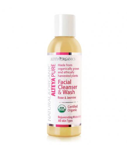 Alteya Organics - Facial Cleanser and Wash - Rose & Jasmine