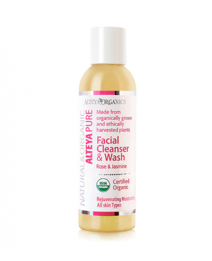 Alteya Organics - Facial Cleanser and Wash - Rose & Jasmine