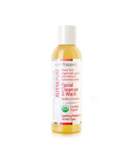 Alteya Organics - Facial Cleanser and Wash - Vanilla & Geranium