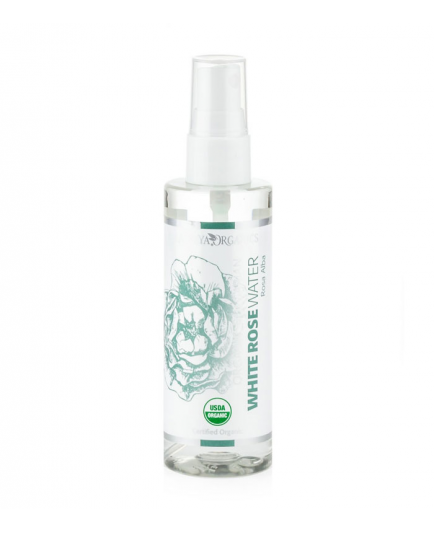 Alteya Organics - Organic White Agua de Rosas (Rosa Alba) - Spray 100ml