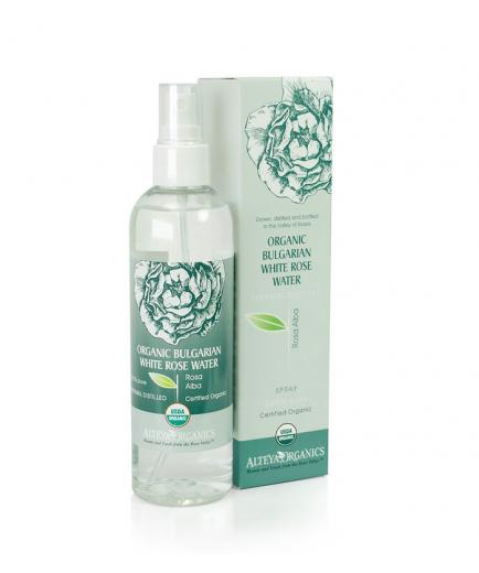 Alteya Organics - Organic White Rose Water (Rosa Alba) - Spray 250ml