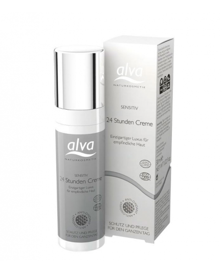 Alva - Crema Facial Cuidado 24 Horas Sensitive 30ml