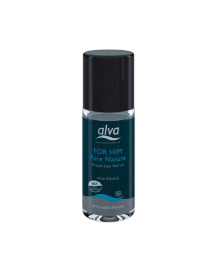 Alva - Desodorante Roll-On para Hombres Crystal