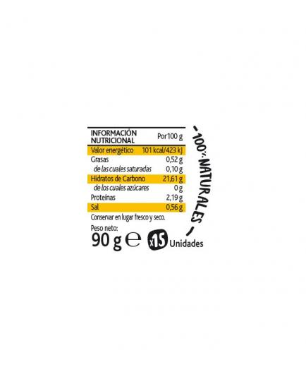 Amaizin - Natural Crispy Arepas Crispies 15 units - Sweet corn