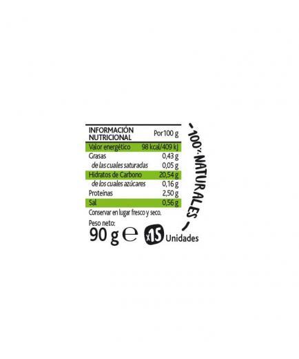 Amaizin - Natural Crispy Arepas Crispies 15 units - Oregano