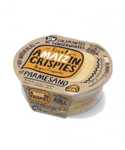 Amaizin - Natural Crispy Arepas Crispies 15 units - Parmesan