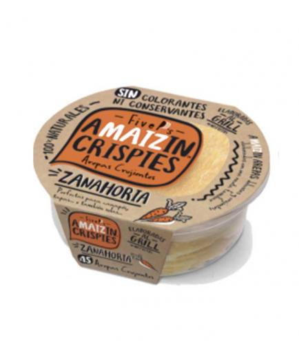 Amaizin - Natural Crispy Arepas Crispies 15 units - Carrot