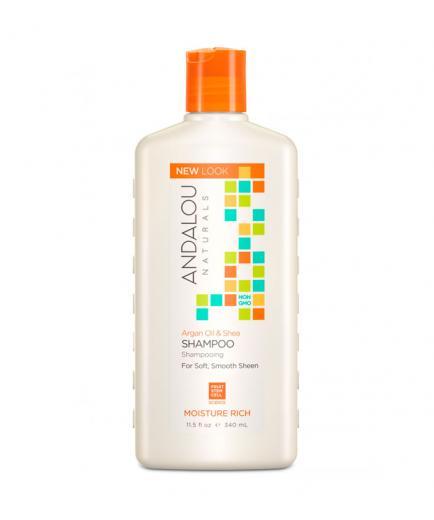 Andalou Naturals - Argan Oil & Shea Shampoo