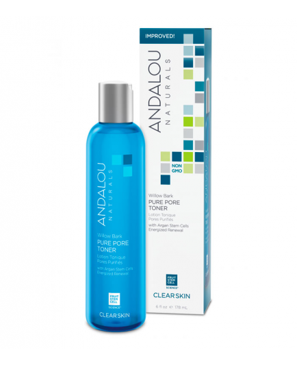 Andalou Naturals - Tónico purificante de poros Willow Bark