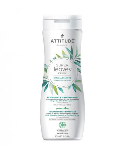 Attitude - Super Leaves Nourishing & Strengthening shampoo - Grape Seed Oil and Olive Leaves