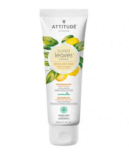 Attitude - Super Leaves Body Cream - Regenerating