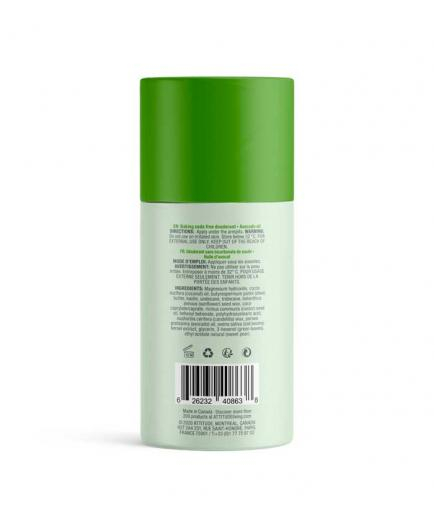 Attitude - Natural Sensitive Baking Soda Free Vegan Solid Deodorant - Avocado Oil