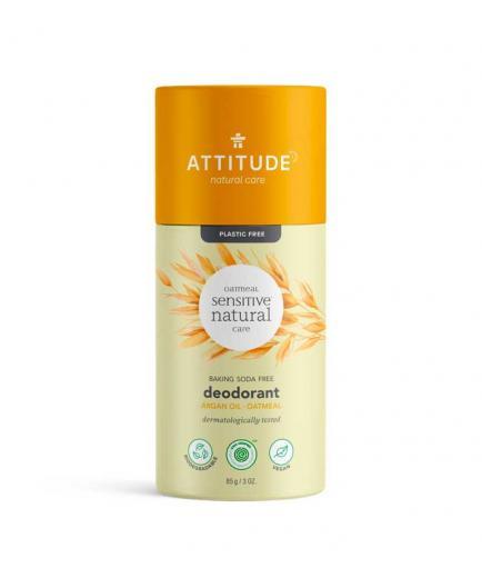 Attitude - Natural Sensitive Baking Soda Free Vegan Solid Deodorant - Argan Oil