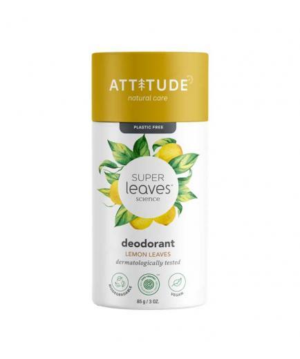 Attitude - Super Leaves Vegan Solid Deodorant - Lemon Leaves