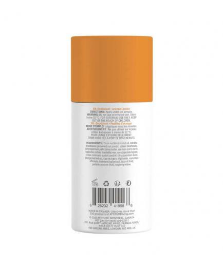 Attitude - Super Leaves Vegan Solid Deodorant - Orange Leaves