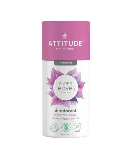 Attitude - Super Leaves Vegan Solid Deodorant - White Tea Leaves