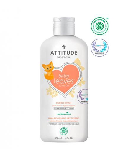 Attitude - Little ones Bubble Bath for baby 473ml - Pear nectar