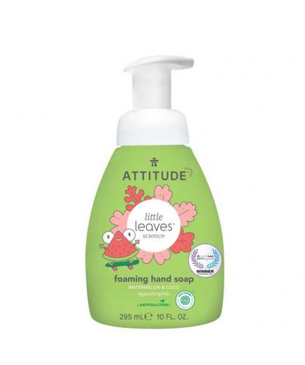 Attitude - Little Leaves Foam hand soap for children - Watermelon and Coco