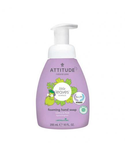 Attitude - Little Leaves Foam hand soap for children - Vanilla and pear