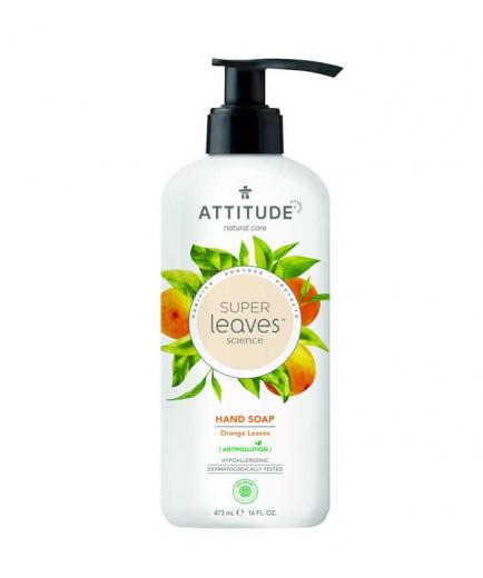 Attitude - Super Leaves hand soap - Orange Leaves