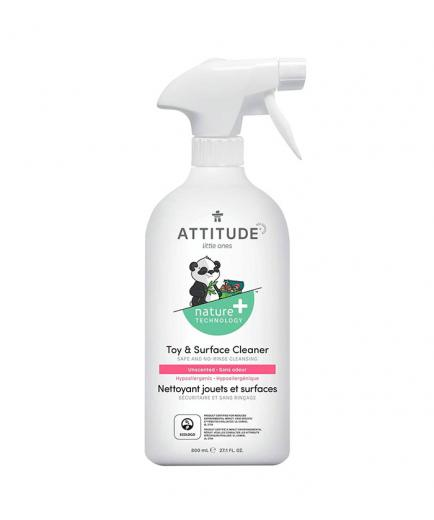 Attitude - Toy and surface cleaner 800ml - Fragrance free