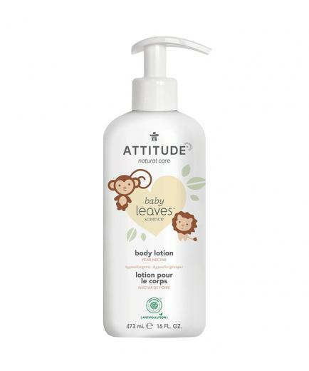 Attitude - Baby Leaves Baby body lotion - Pear nectar