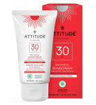 Attitude - 100% Mineral Sunscreen SPF 30 for kids - Fragrance-free 150gr
