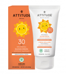 Attitude - 100% Mineral Sunscreen SPF 30 for kids - Vanilla Blossom 150gr