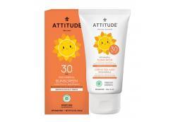 Attitude - 100% Mineral Sunscreen SPF 30 for kids - Vanilla Blossom 150gr