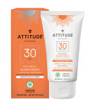 Attitude - 100% Mineral Sunscreen SPF 30 - Orange Blossom 150gr