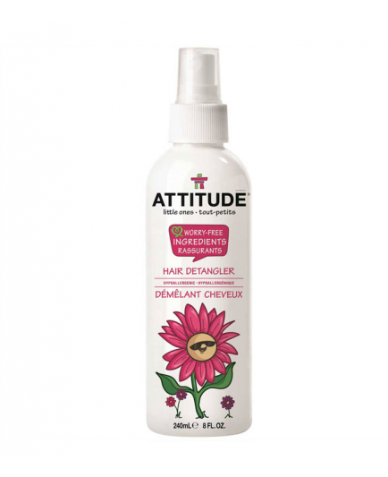 Attitude - Spray Desenredante para bebés Little ones
