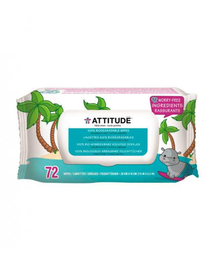 Attitude - Little ones 100% biodegradable baby wipes