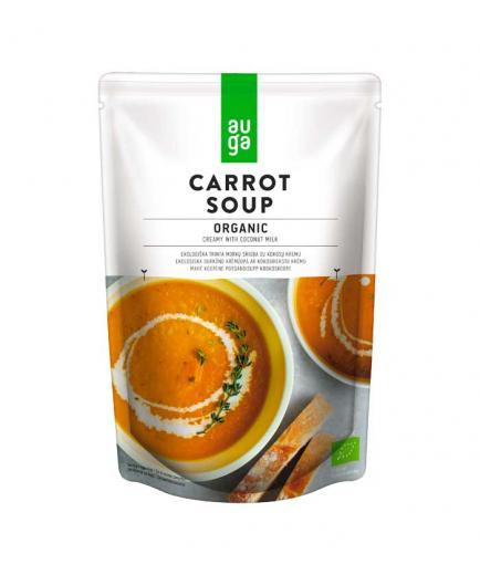 Auga - Organic creamy carrot and coconut milk soup 400g