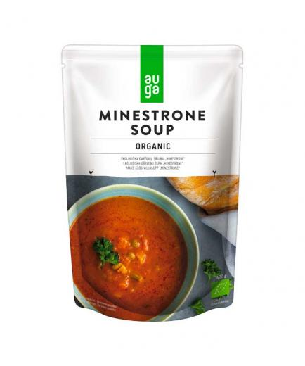 Auga - Minestrone organic vegetable soup 400g