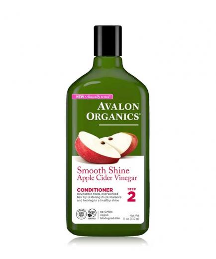 Avalon Organics - Smoothness and shine conditioner 312g - Apple cider vinegar