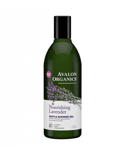Avalon Organics - Bath & Shower Gel - Lavender