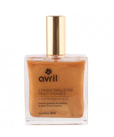 Avril - Multi-usage shimmering dry oil